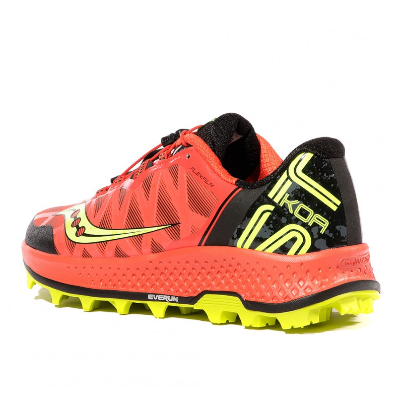 Koa ST Homme Chaussures Trail Rouge Saucony