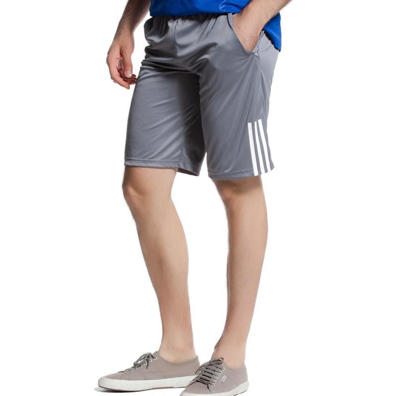 discount free shipping outlet store sale Response Garçon Short Tennis Gris Adidas