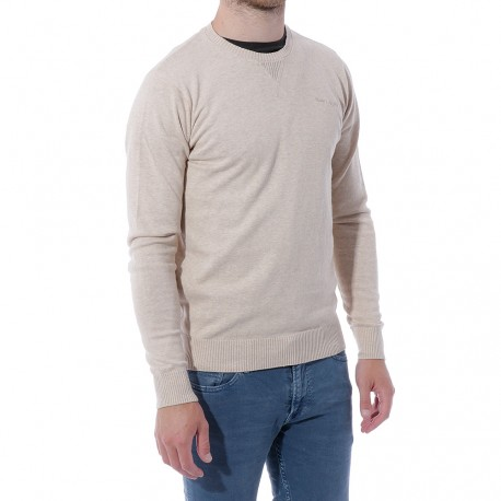 Play Sweat Homme Pull Beige Teddy Smith