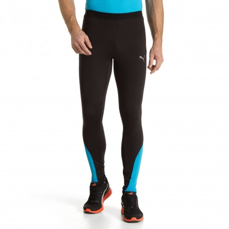 Tight Noir Collant Running Long Puma Homme Speed kuPZOXi