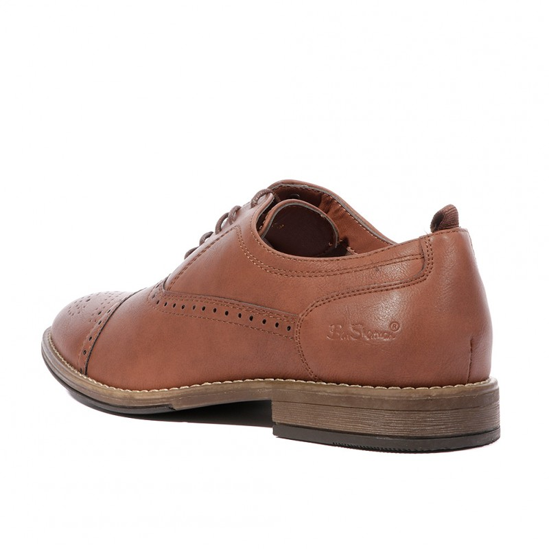 Oxted Leather Ben Homme Marron Chaussures Sherman xBedWrCo