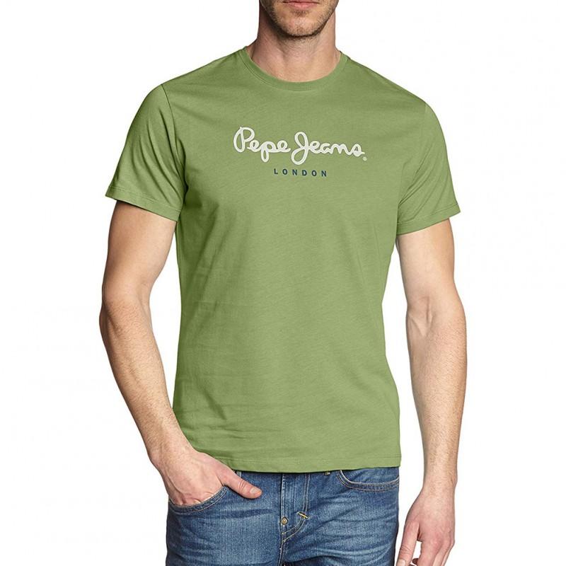 c493dacdef Eggo Homme Tee-shirt Vert Pépé Jeans