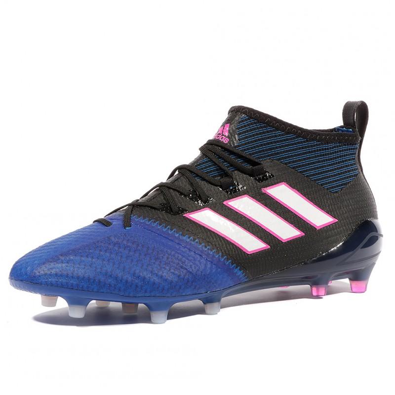 new style 78af3 3868e Noir Homme Fg 17 Chaussures Ace 1 Bleu Primeknit Football Ad