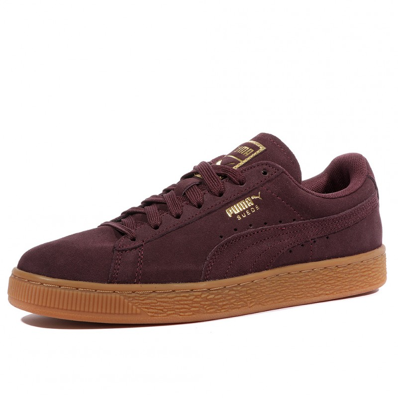 Wn's Classic Puma Violet Chaussures Gold Femme Suede zVUpSM