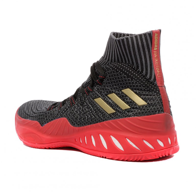Crazy Explosive 2017 PK Homme Chaussures Basketball Gris Adidas