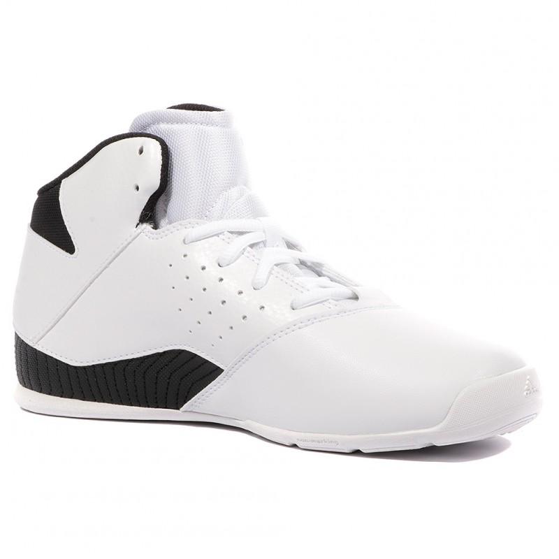 Adidas Nxt V Spd Blanc Lvl K Homme Basketball Chaussures