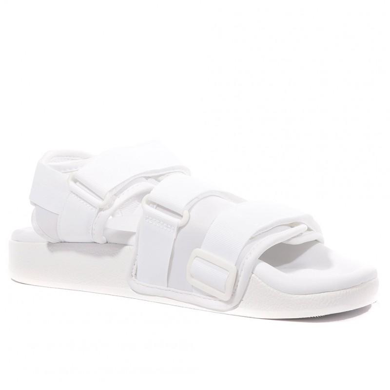Adilette Sandale Adidas Sandal Blanc Femme mnwvN08