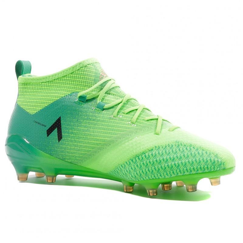 Ace 17.1 Primeknit FG Homme Chaussures Football Vert Adidas