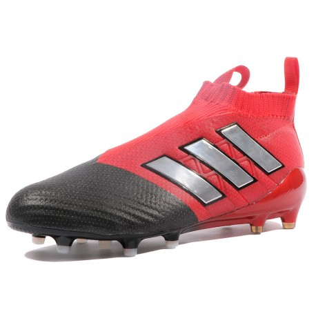 Ace 17+ Purecontrol FG Homme Chaussures Football Rouge Adidas