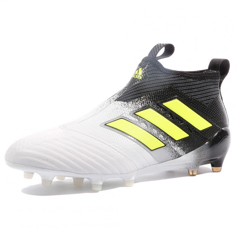 new product aed11 0e797 Ace 17+ Purecontrol SG Homme Chaussures Football Blanc Adidas