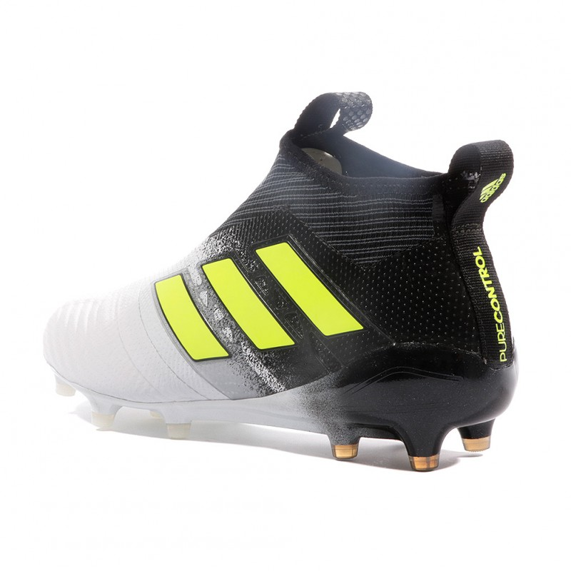Ace 17+ Purecontrol FG Homme Chaussures Football Blanc Adidas