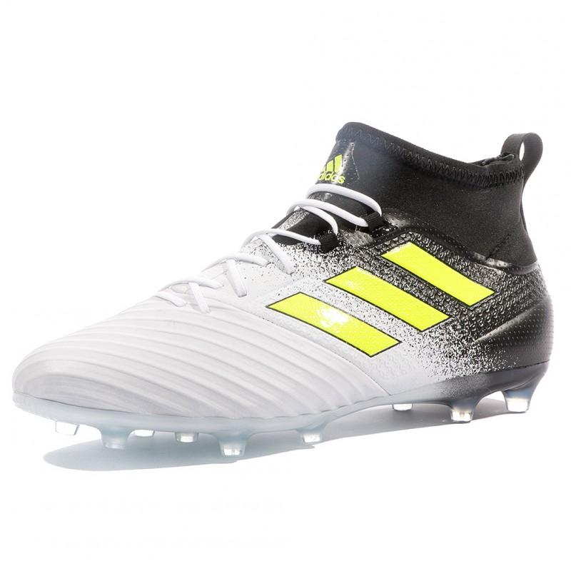 Ace 17.2 FG Homme Chaussures Football Blanc Noir Adidas