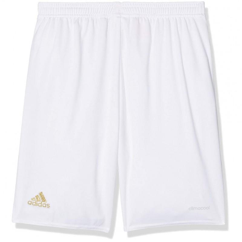 Milan AC Garçon Short Football Blanc Adidas