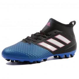 new arrival 12da5 a0fd1 Ace 17.3 Primemesh AG Homme Chaussures Football Noir Bleu Adidas