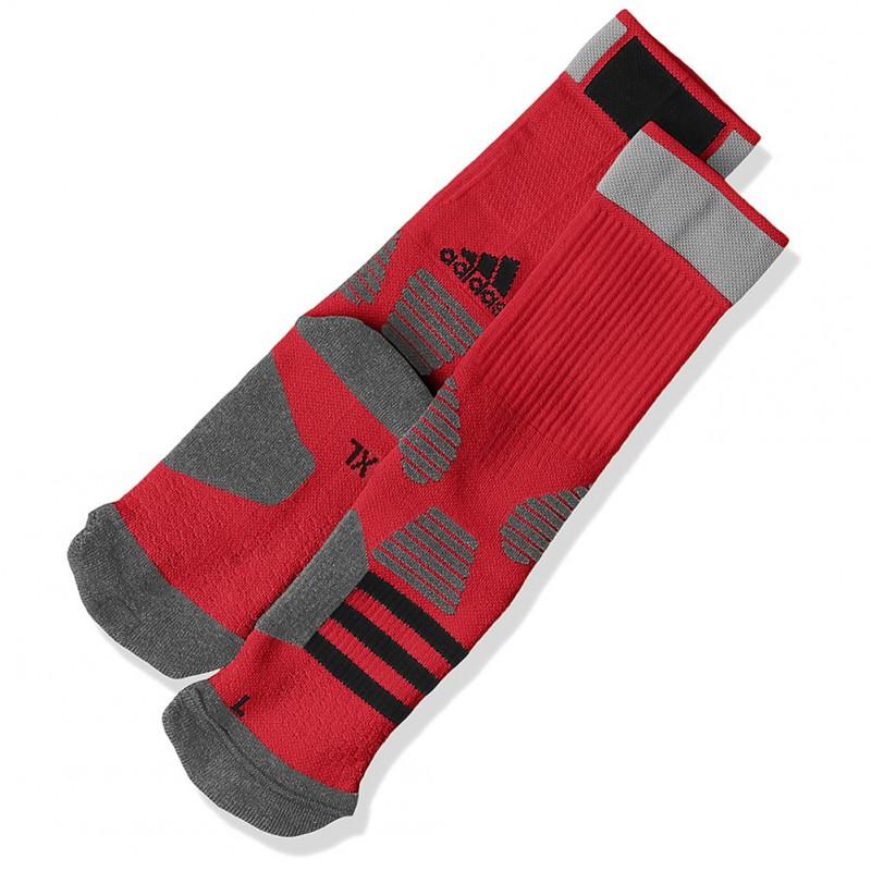 Rouge Basketball Adidas Chaussettes Garçon KTl1cFJ