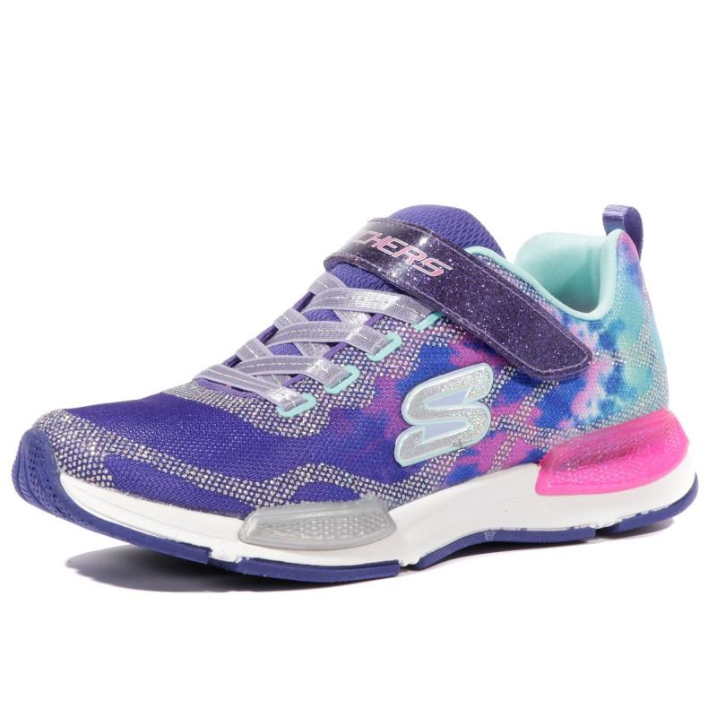 d882a72cdbd Jumptech Dreamy Daze Fille Chaussures Bleu Skechers