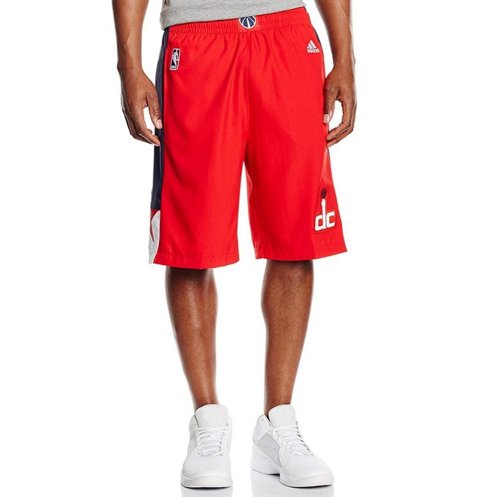 Wizards Short Rouge Détails Homme Sur Adidas Basketball Swingman Washington qUGLMpSzV