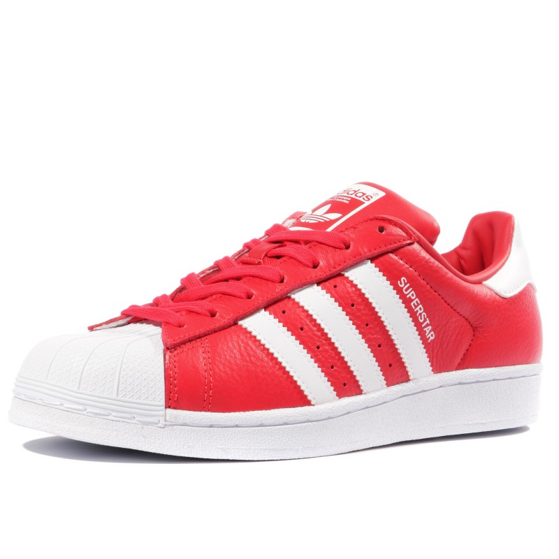 chaussure rouge adidas