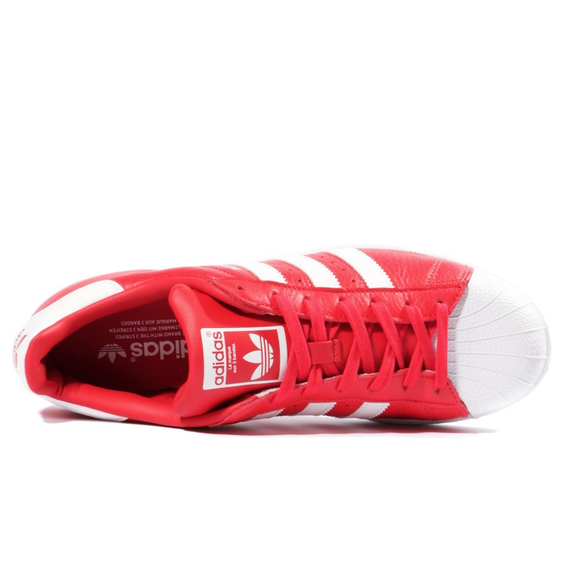 Superstar Ebay Fwisqawea Rouge Homme Chaussures Femme Adidas wFxP6XqE
