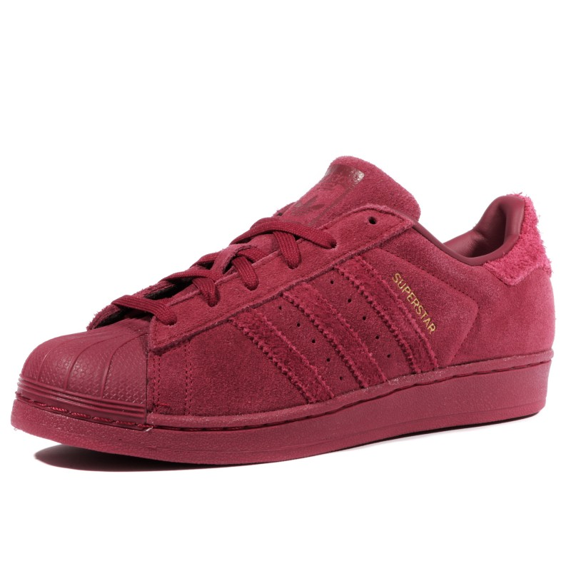 Superstar Fille Femme Chaussures Bordeaux Adidas BPuv4VYp