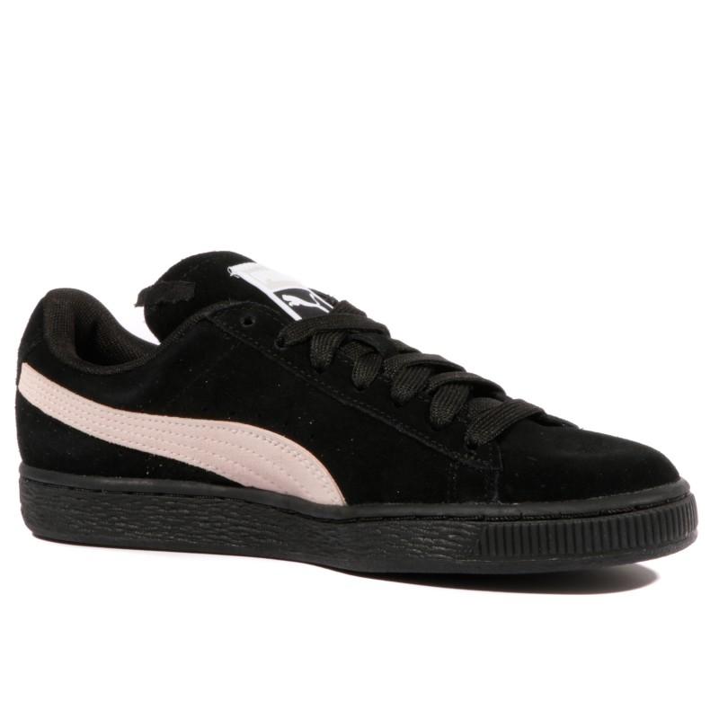 Chaussures Noir Suede Femme Puma Classic TFc1JlK3