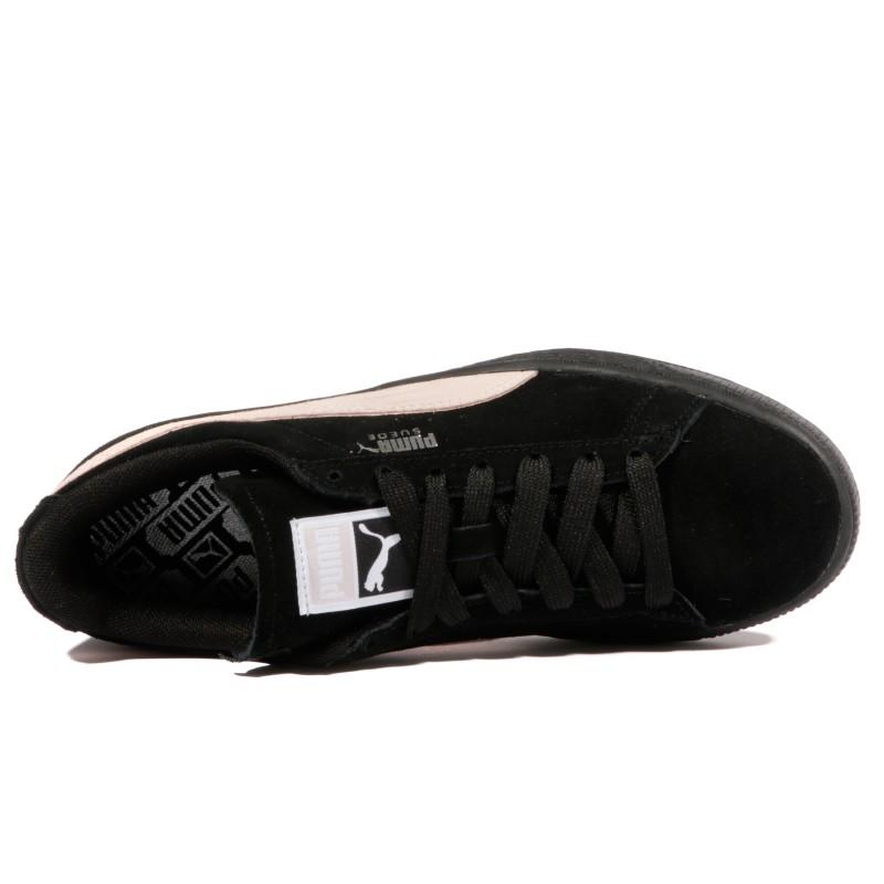 Classic Suede Noir Chaussures Femme Puma POnwk0