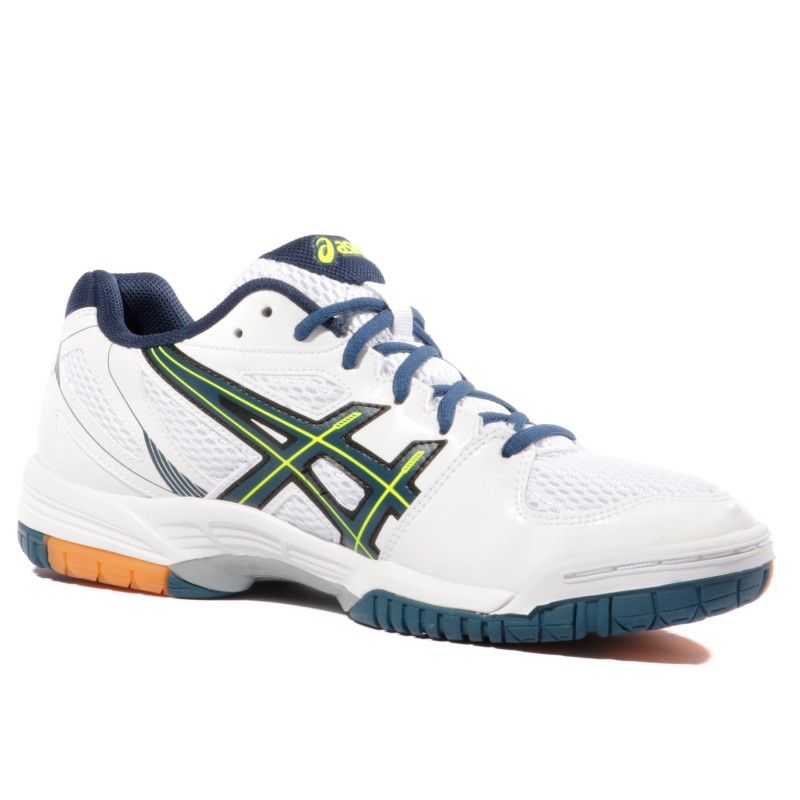 Blanc Ball Flare Volley Homme Chaussures 5 Asics Gel KcT13JlF
