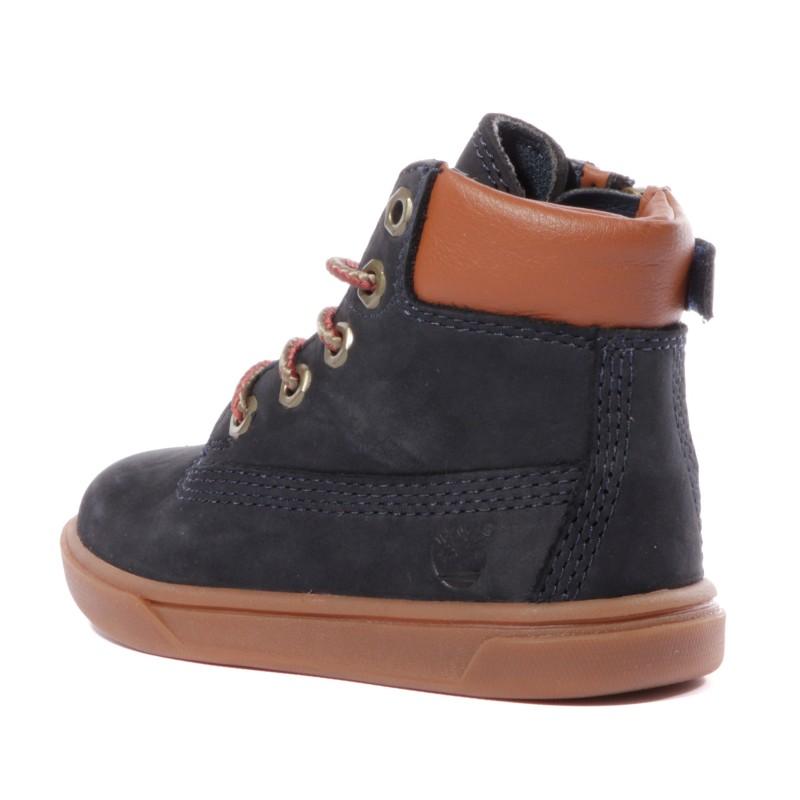 chaussure timberland garcon bleu
