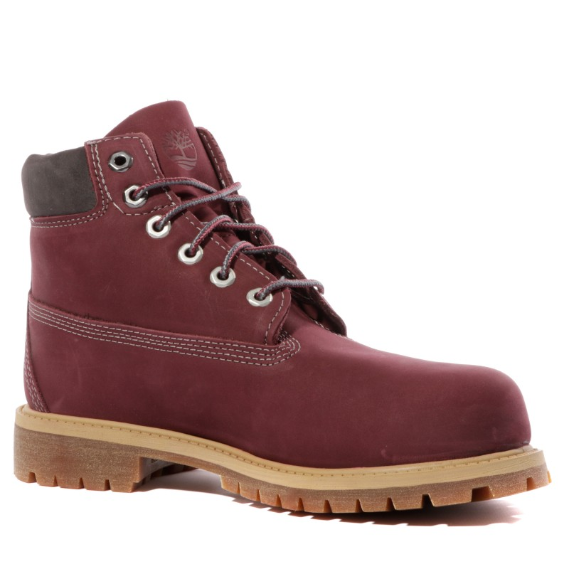 6 In Premium Fille Boots Bordeaux Timberland