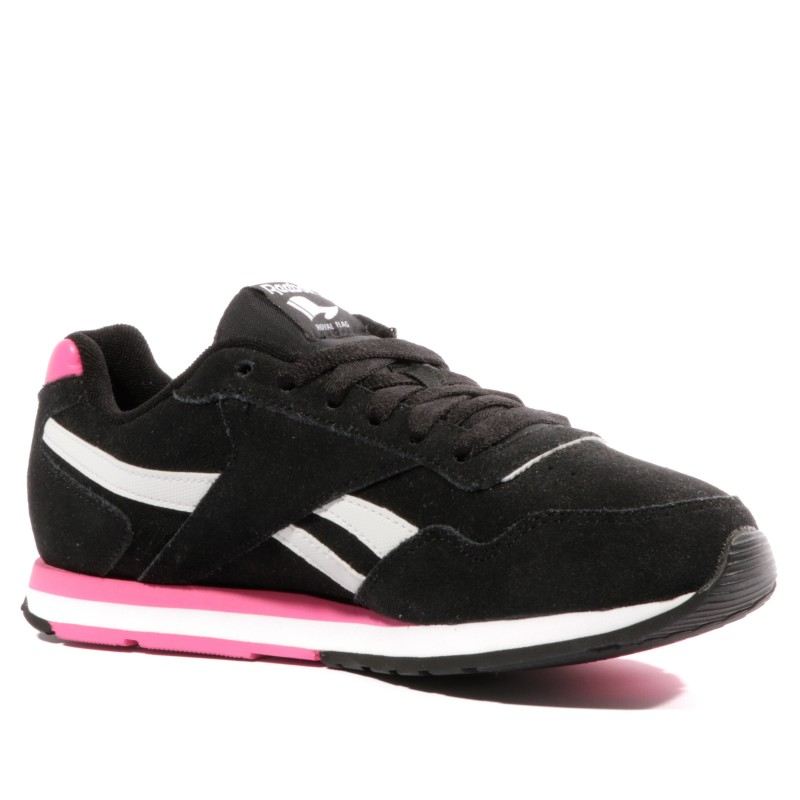 Royal Chaussures Noir Reebok Femme Glide HED2IW9