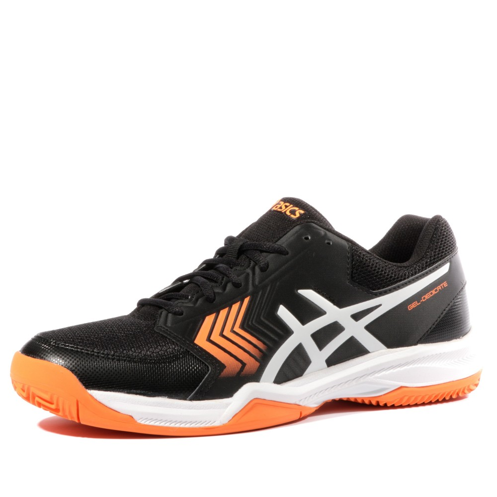 la meilleure attitude 1b60e a4344 Détails sur Gel Dedicate 5 Clay Homme Chaussures Tennis Noir Asics Noir