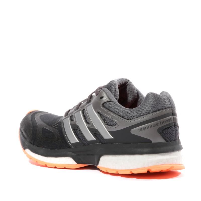 la meilleure attitude f005b 3fbdc Response Boost Techfit Femme Chaussures Running Gris Adidas