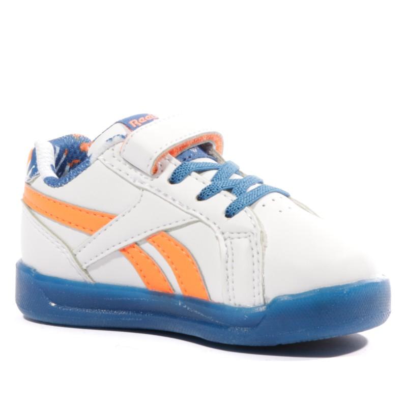 Step N' Flash 3.0 Bébé Garçon Chaussures Lumineuses Blanc Reebok