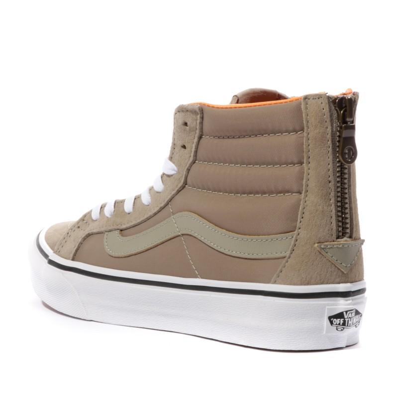 Hi Slim Sk8 Marron Chaussures Vans Zip Femme xBRnqwnv0