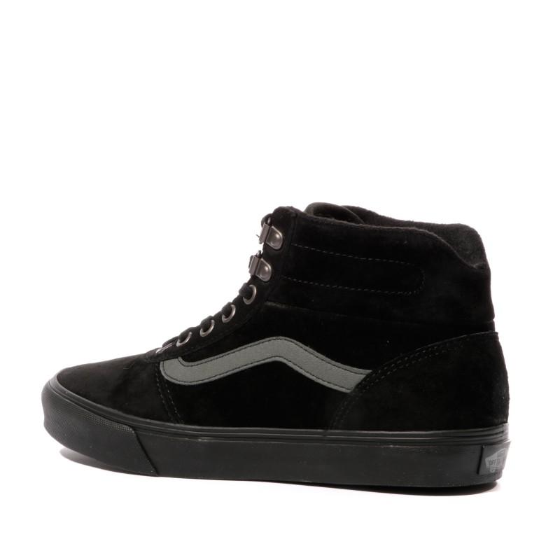 vans femme chaussure noire