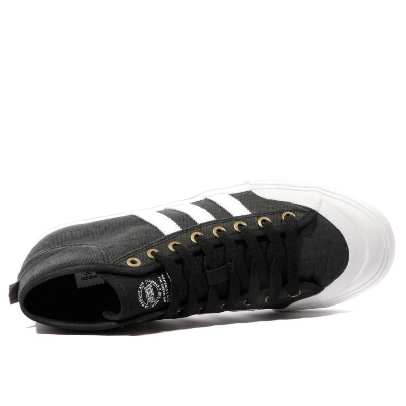 buy online 7ba73 9300b Matchcourt Mid Homme Chaussures Skateboard Noir Adidas