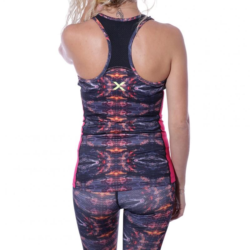 Caribbean Femme Débardeur Fitness Noir Xinx