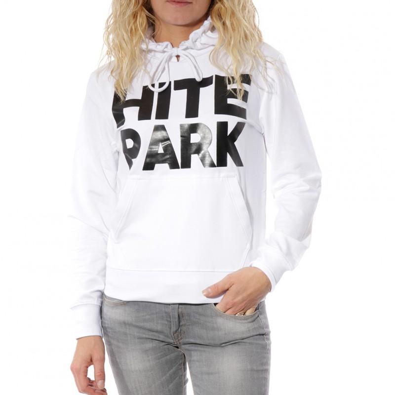 Light Mujer White Hite Sudadera Park P08nkwO