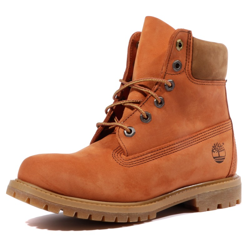 f0b2206c239 6 In Premium Femme Boots Marron Timberland