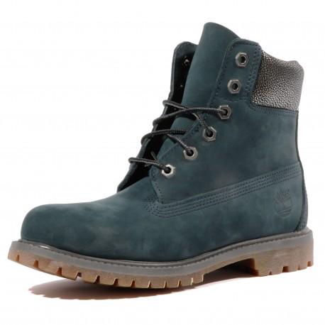 6 In Premium Femme Boots Bleu Timberland