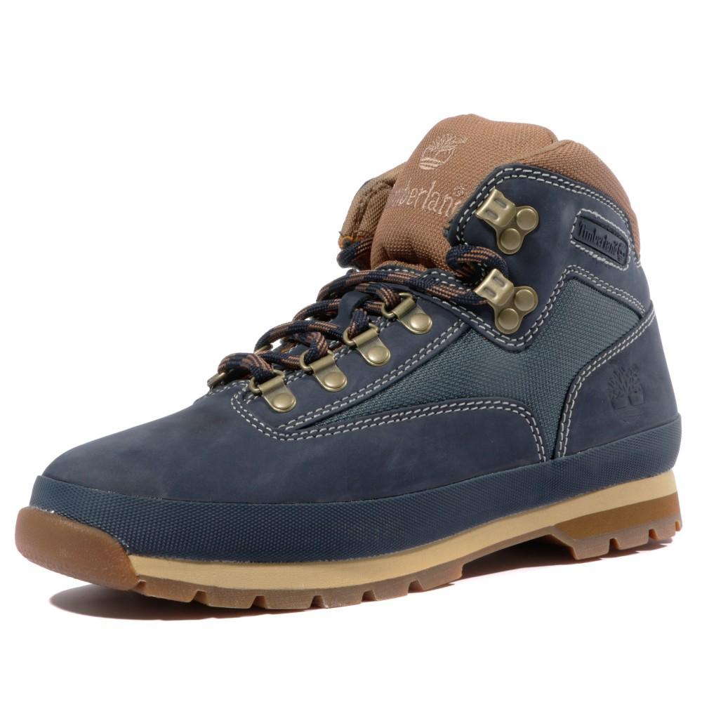 Détails sur Euro Sprint Homme Chaussures Bottes Bleu Timberland Bleu