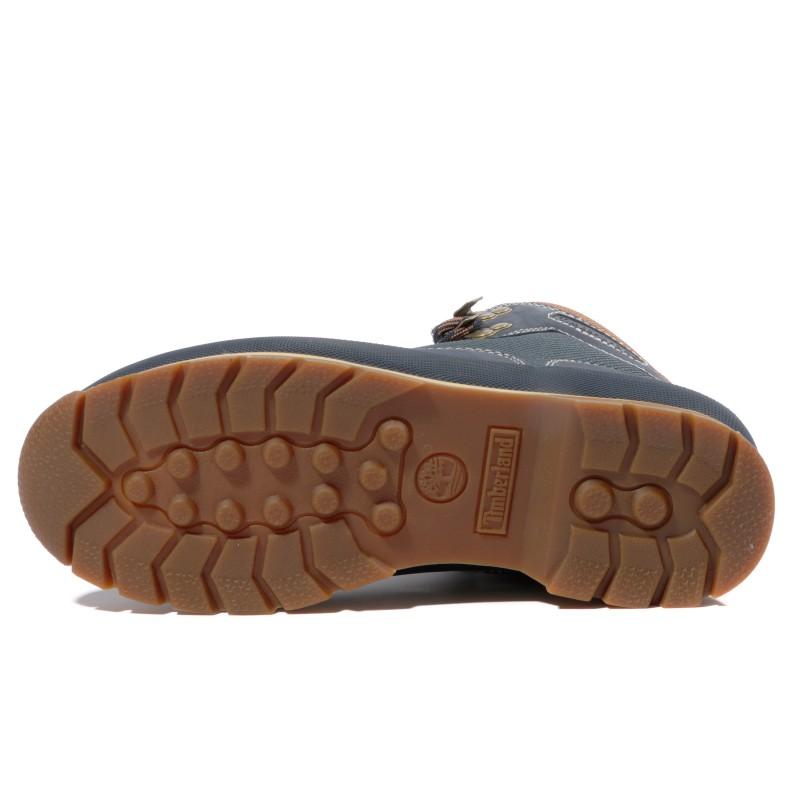 chaussure homme cuir timberland bleu