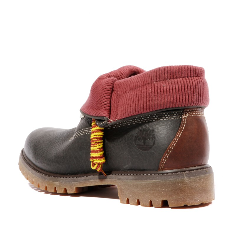 timberland roll top homme grise
