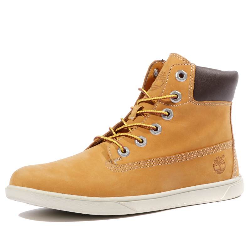 chaussures marron timberland
