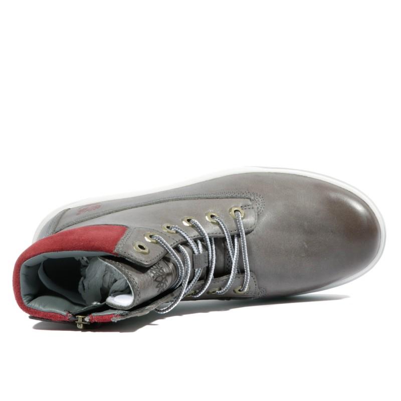 Chaussures Groveton Garçon Timberland Hiker Gris Ybf7y6g