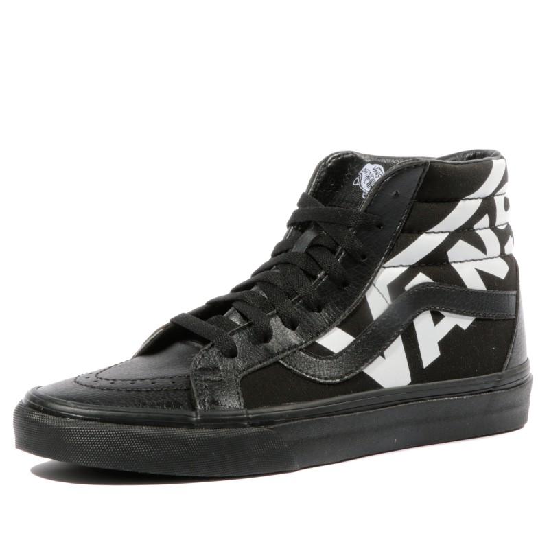 Noir Hi Chaussures Reissue Vans Femme Sk8 gwIY4qI