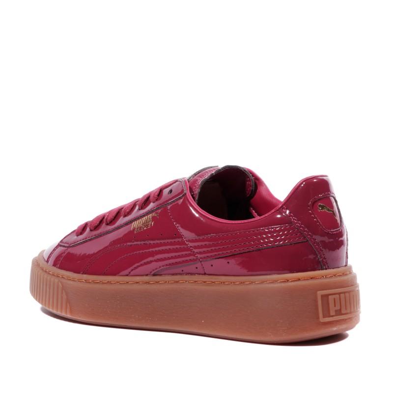 puma platform rouge