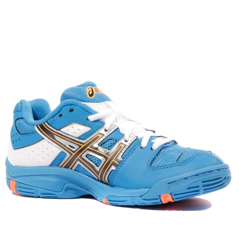 5 Gs Handball Asics Garçon Chaussures Blast Blanc Gel Bleu YE9HIWD2