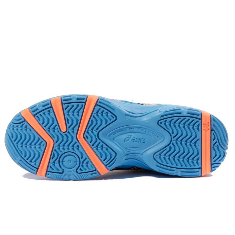 6991d618c40a7 Gel Blast 5 GS Garçon Chaussures Handball Bleu Blanc Asics