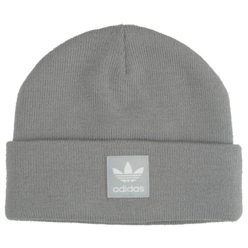 Logo Enfant/Homme/Femme Bonnet Gris Adidas